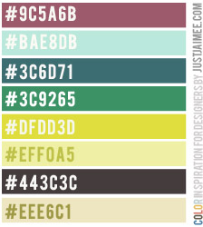Color Inspiration 48 by Just Jaimee