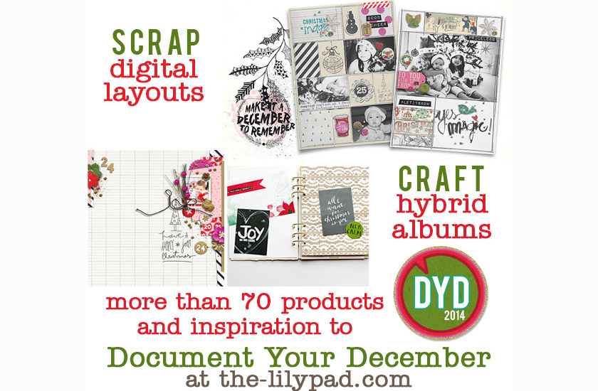 Document Your December now at the Lilypad!