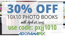Adoramapix Photo Book Coupon