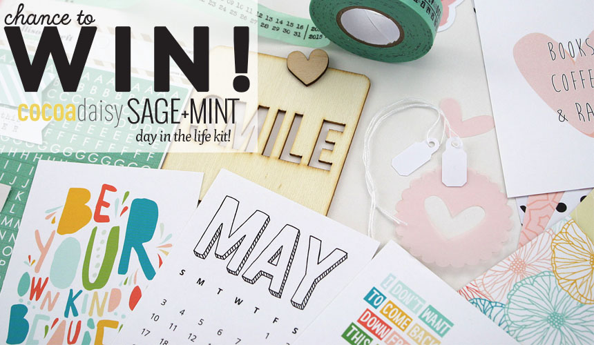 Chance to win Cocoa Daisy a Day in the life kit