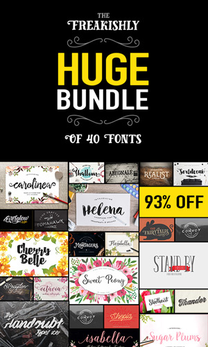 http://justjaimee.com/wp-content/uploads/2015/07/freakishly-huge-bundle-of-40-fonts-preview-300x500.jpg