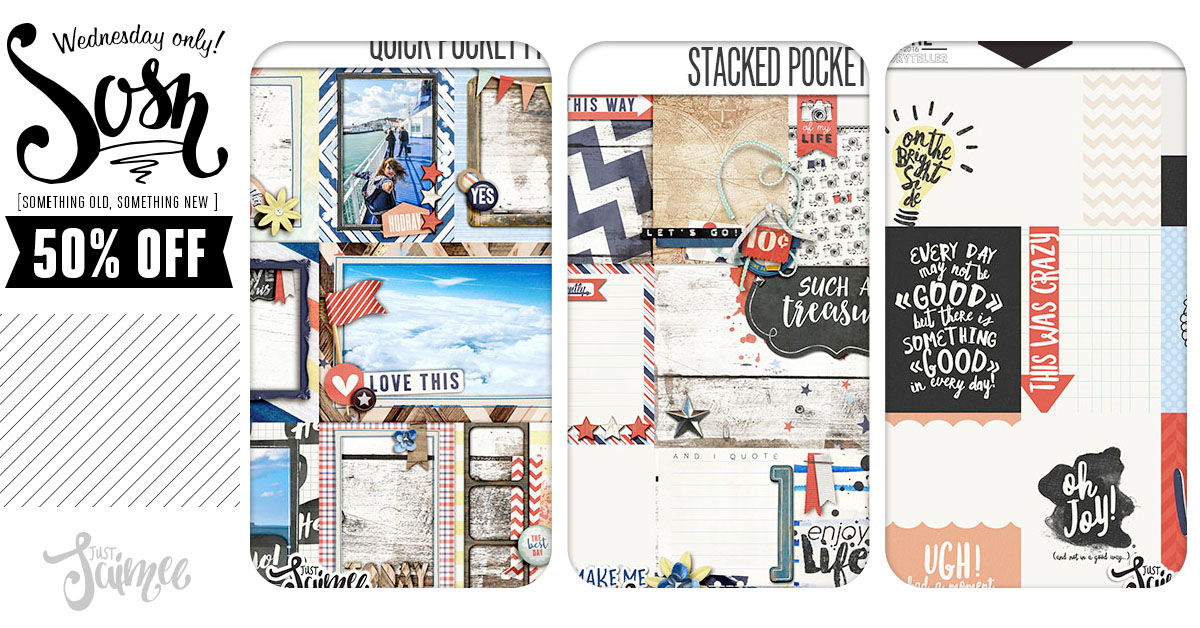 50% off – New Bad Day Cards, Stacked Pockets & Frames